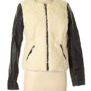 American Eagle Outfitters faux shearling jacket